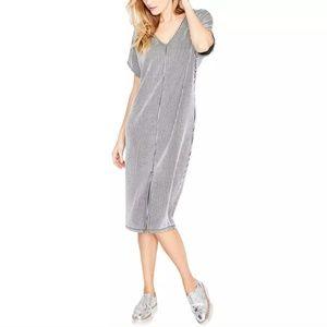 NWT RACHEL Rachel Roy Striped V-neck Dress